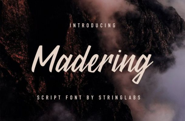 Madering Font