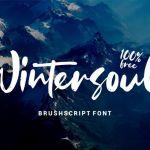 Wintersoul Font