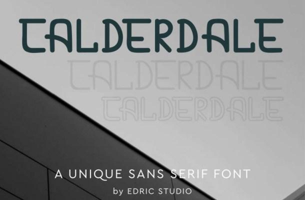 Calderdale Sans Serif Font
