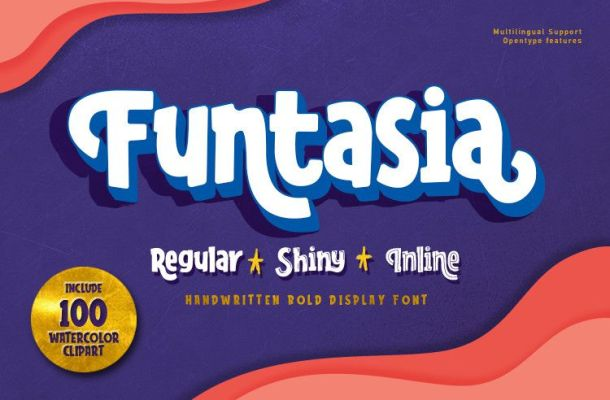 Funtasia Display Font