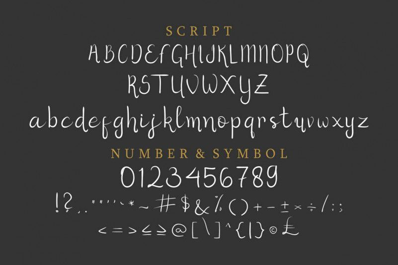 Herist Calligraphy Font