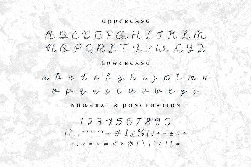 Mallisa Handwritten Font-3