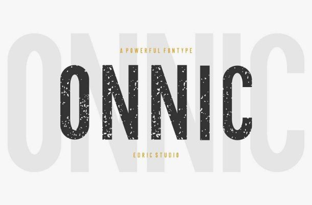 ONNIC Display Font