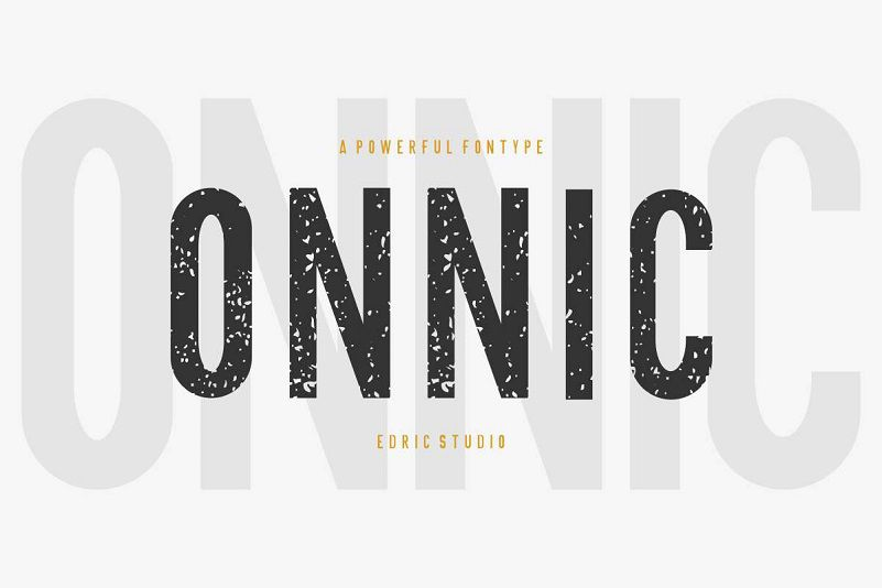 ONNIC Display Font-1