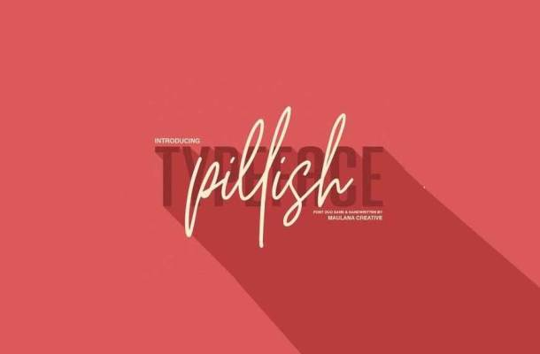 Pillish Font Duo