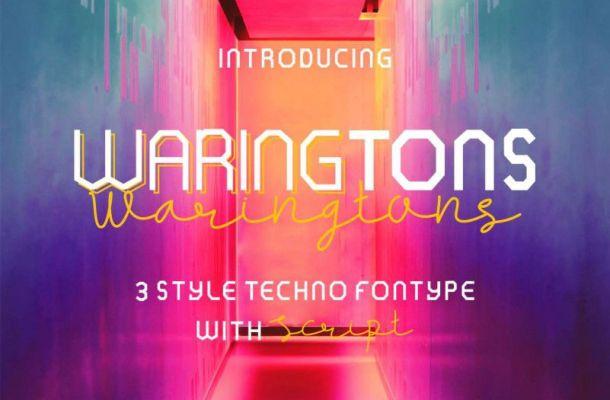 Waringtons Font Family