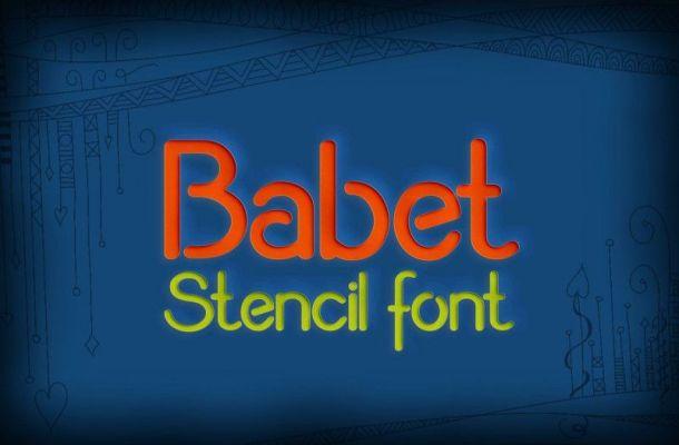 Babet Font