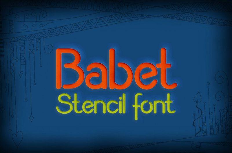 babet-font