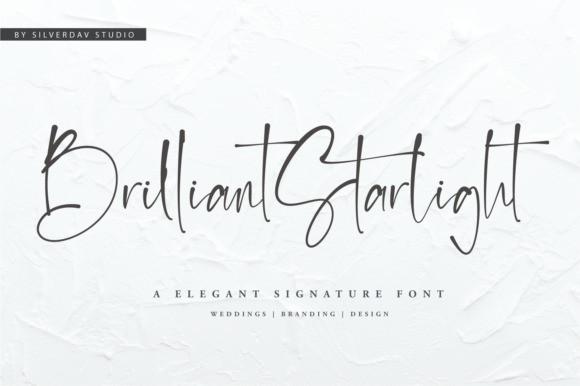 Brilliant Starlight Script Font
