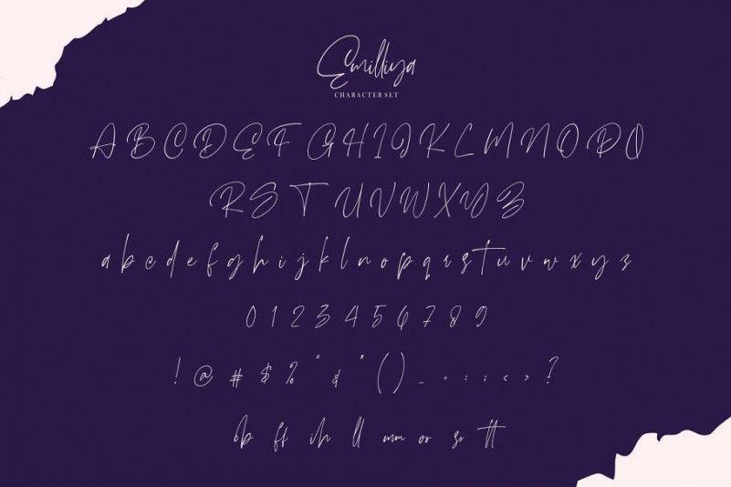 emilliya-signature-font-3