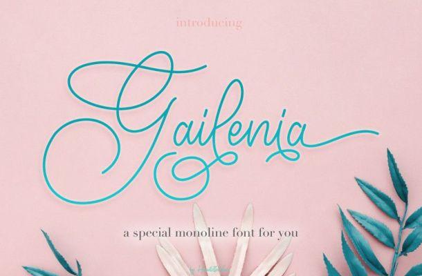 Gailenia Font