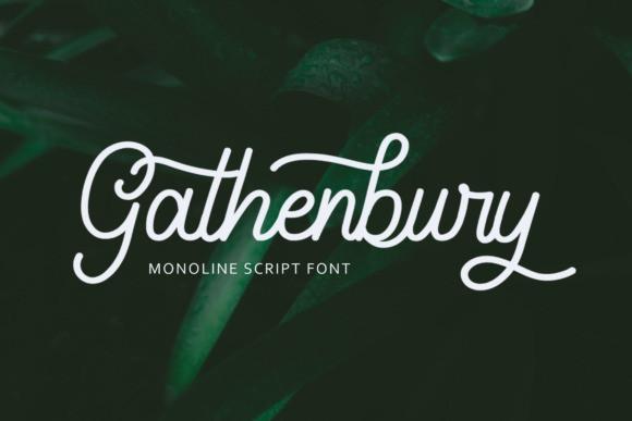 gathenbury-script-font