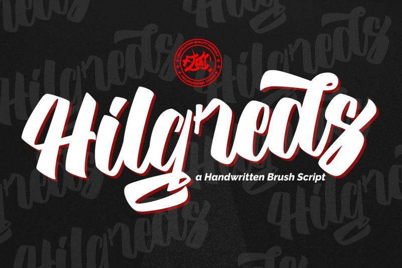 hilgreds-script-font