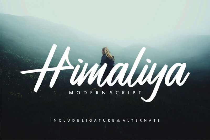 Himaliya Script Font