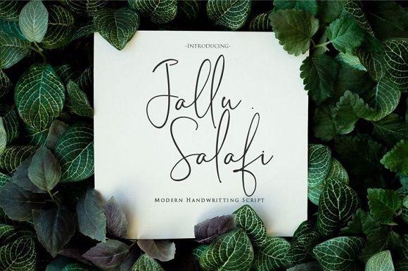jallu-salafi-font