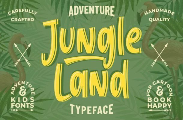 Jungle Land Font