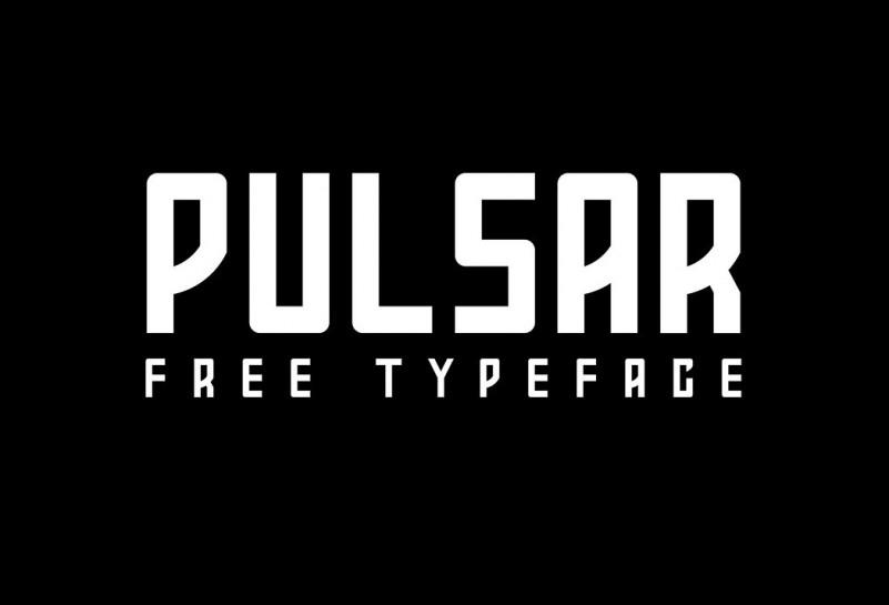 pulsar-free-font