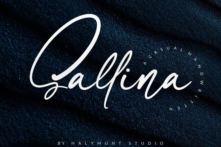 sallina-script-font