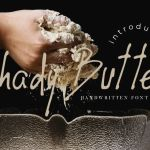 Shady Butter Font