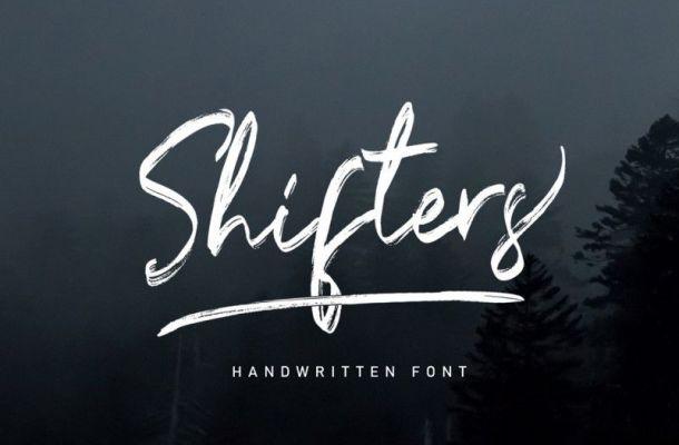 Shifters Font