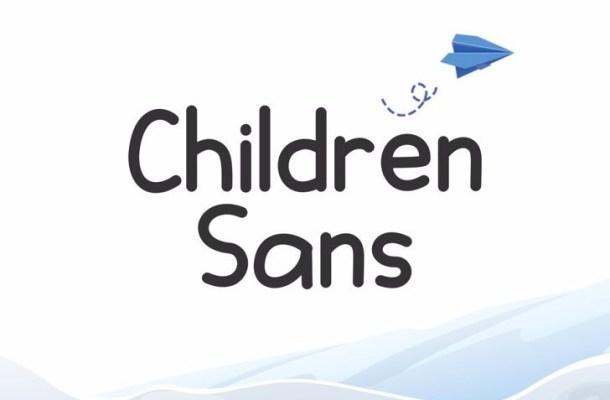 Children Sans Font