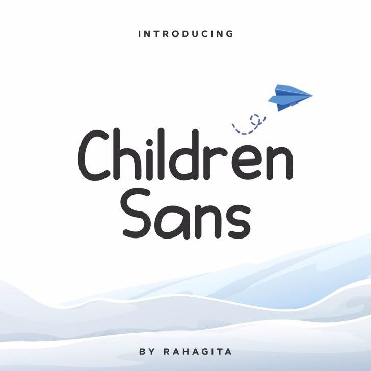 Children Font