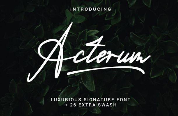 Acterum Font