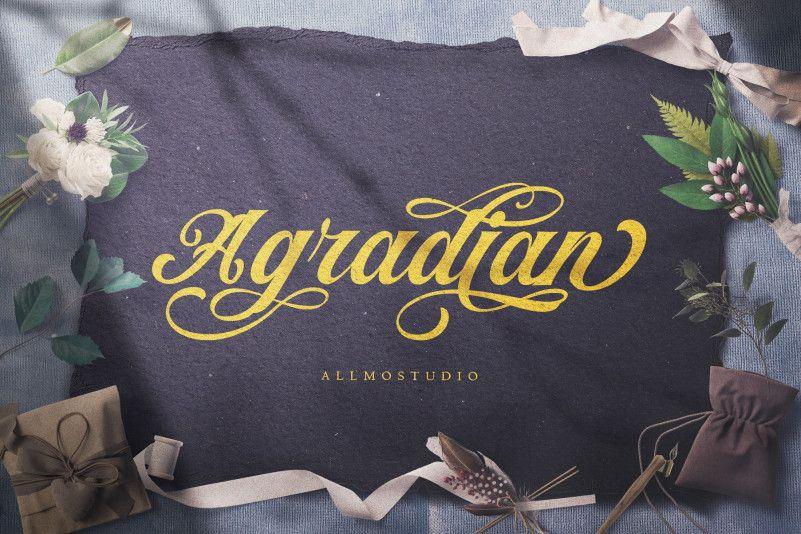 agradian-font