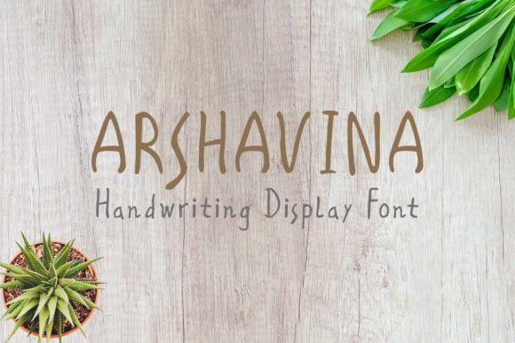 Arshavina Font