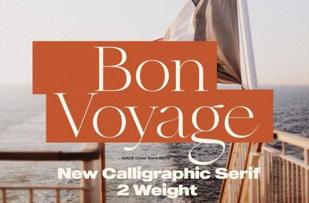 Bon Voyage Font
