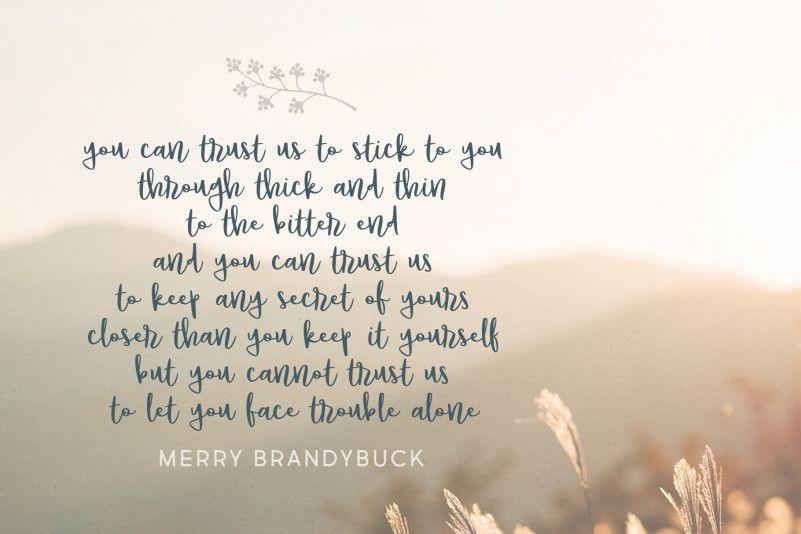 Brandybuck Font