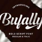 Bufally Calligraphy Font