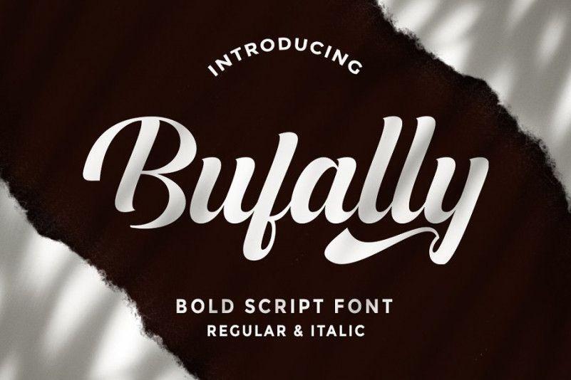 bufally-font