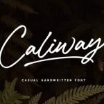 Caliway Font