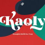 Kaoly Bold Serif Font