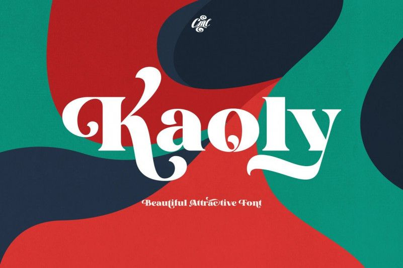 kaoly-bold-serif-font