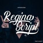 Regina Calligraphy Font