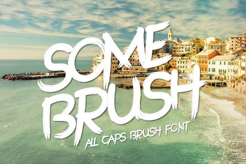 somebrush-font