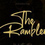 The Rumbler Script Font