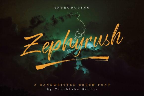 Zephyrush Font