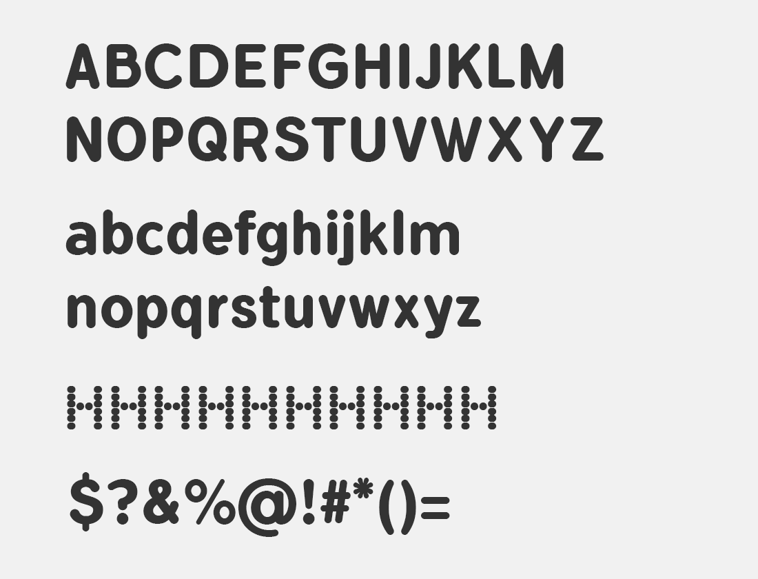 1 Flamante Round Bold font