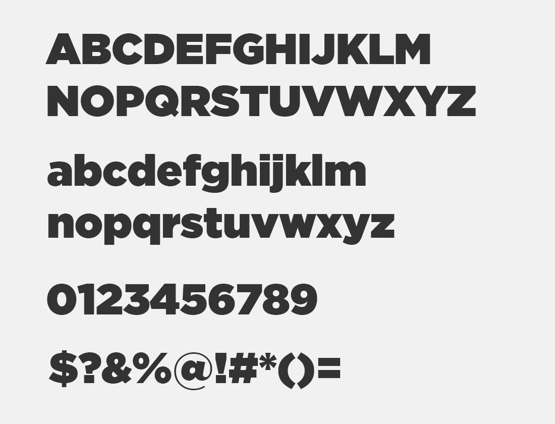1 iCiel Gotham Ultra font