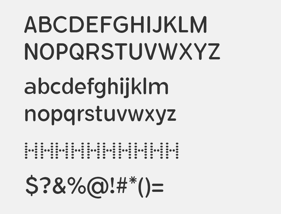 7 FlamanteRoundBook font