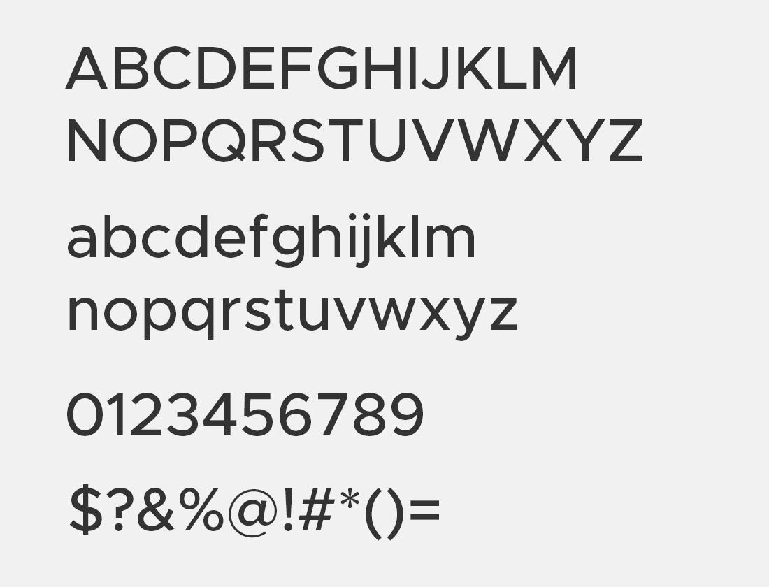 9 Metropolis medium font avn