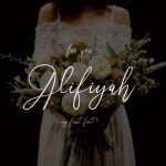 Alifiyah Handwritten Font