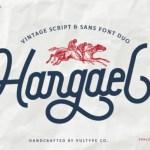 Hargael Vintage Script Font