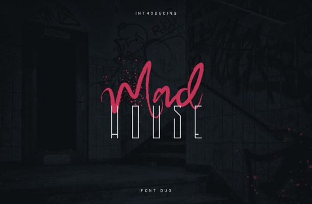 Madhouse Font Duo