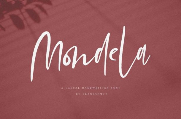 Mondela Casual Handwritten Font