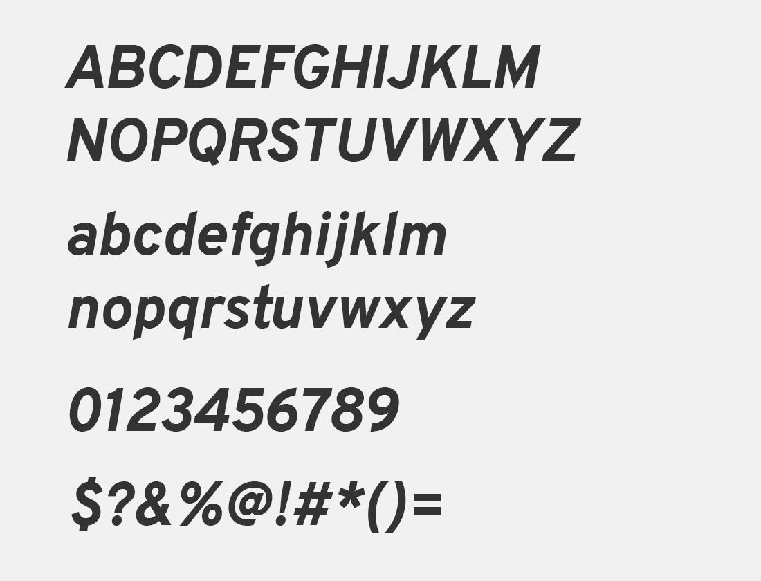Overpass ExtraBold Italic font