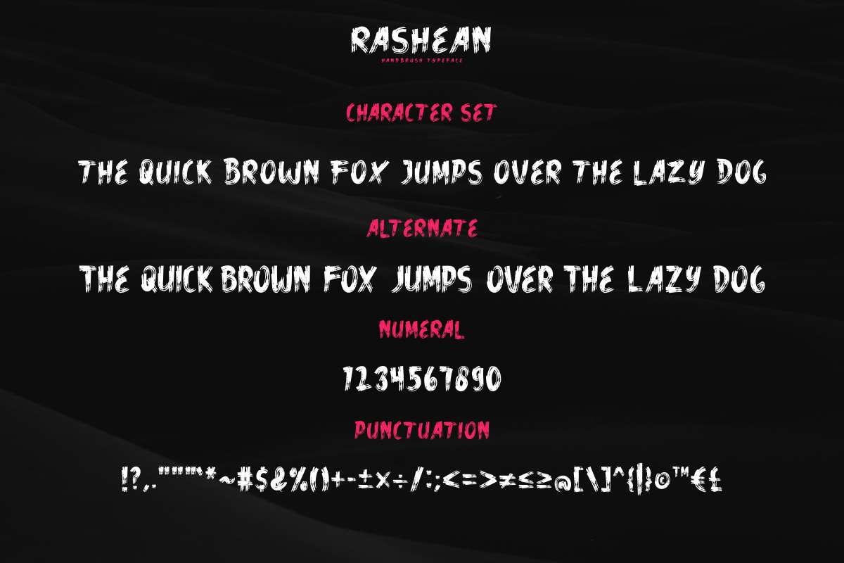 Rashean Brush Font-3